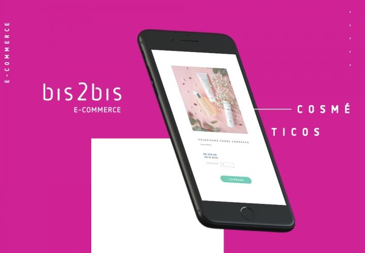 A imagem mostra a interface de um e-commerce de cosméticos, que se bem planejado, pode movimentar muito um negócio do segmento