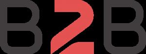 Logotipo reduzido da Bis2Bis E-commerce, empresa que desenvolve a Plataforma de E-commerce Magento