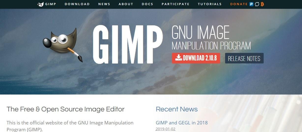 Gimp é uma das ferramentas de edição de imagens mais utilizadas