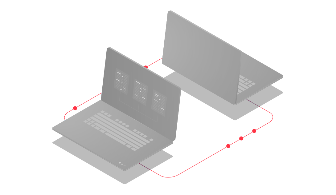 Ícone que simboliza as parcerias geradas pela Bis2Bis E-commerce, empresa que desenvolve a Plataforma de E-commerce Magento