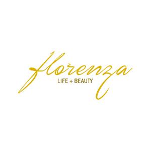 Logotipo da loja virtual Florenza, cliente da Bis2Bis, empresa que desenvolve Plataforma de E-commerce Magento