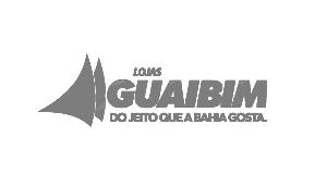 Logotipo da loja virtual Guaibim, cliente da Bis2Bis, empresa que desenvolve Plataforma de E-commerce Magento