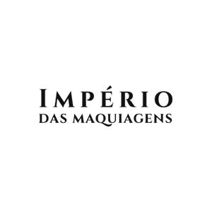 Logotipo da loja virtual Império das Maquiagens, cliente da Bis2Bis, empresa que desenvolve Plataforma de E-commerce Magento