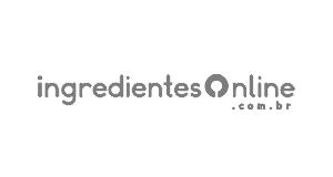Logotipo da loja virtual Ingredientes Online, cliente da Bis2Bis, empresa que desenvolve Plataforma de E-commerce Magento