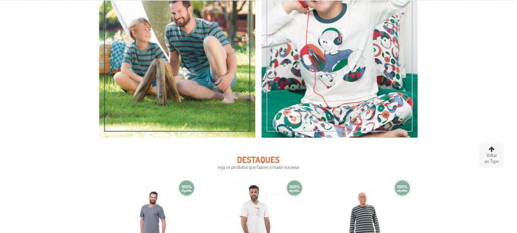 Continuação da imagem do site Sonhart que organizou seu e-commerce para vender mais no Dia dos Pais.