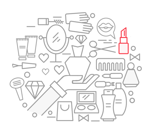 Ícone das lojas virtuais de cosmeticos desenvolvidas pela Bis2Bis E-commerce