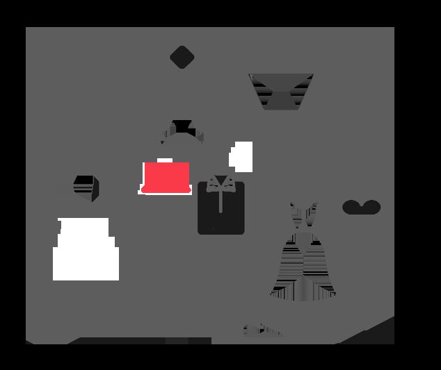 Ícone das lojas virtuais de moda desenvolvidas pela Bis2Bis E-commerce