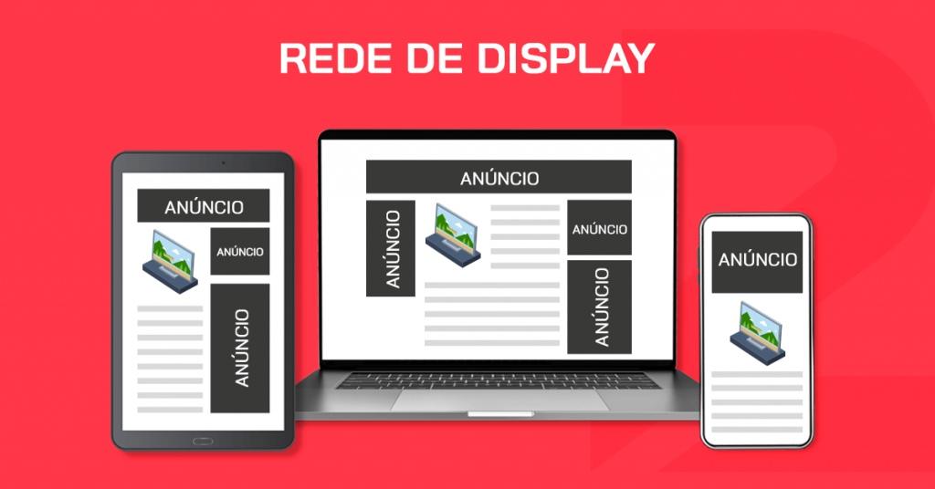 Outro formato de mídia paga no e-commerce é a rede de display, que utiliza sites do mesmo segmento para divulgar a sua loja virtual.