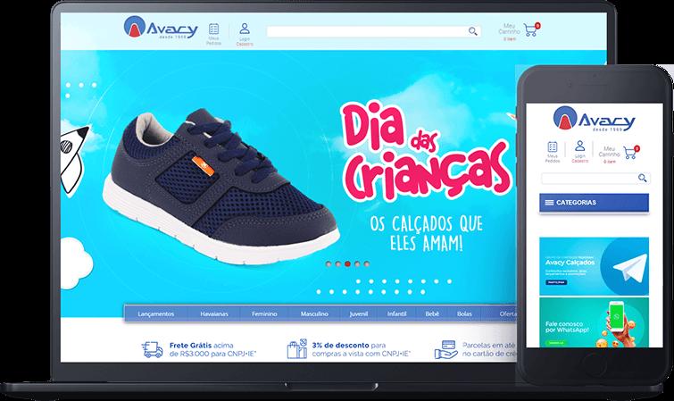 Loja virtual Avacy, case de sucesso Bis2bis