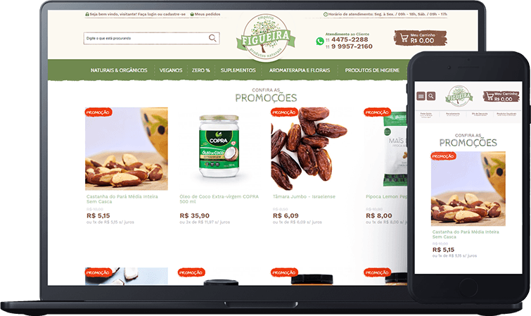 Empório Figueira, case de sucesso Bis2Bis E-commerce