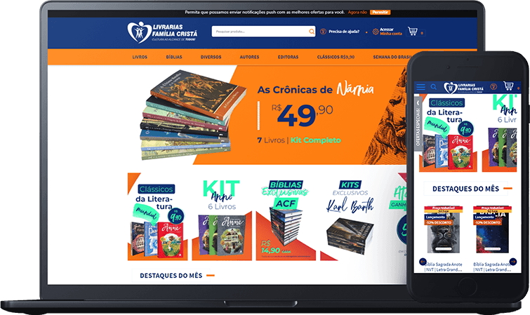E-commerce Livrarias Família Cristã, case de sucesso Bis2bis