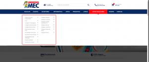 Escolas parceiras da Loja Virtual Atacadão MEC, desenvolvida pela Bis2Bis E-commerce
